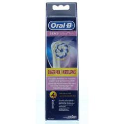 Oral B Sensi UltraThin Replacement Toothbrush Heads (Pack of 4)