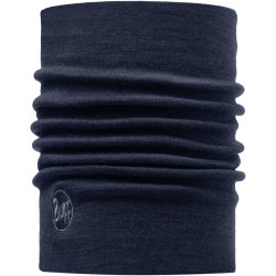 Buff Nekwarmer Merino Wool Thermal Denim Unisex Maat One Size