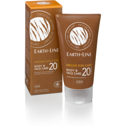 Earth Line Argan Bio Sun Body Face Factor 20