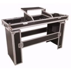 Omnitronic Console Road Table 2x TT met laptop plateau