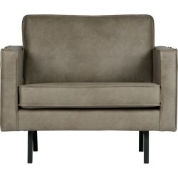 BePureHome Rodeo fauteuil elephant skin