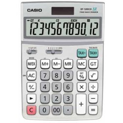 Casio bureaurekenmachine DF 120 ECO
