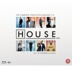 House M.D. Complete Serie (blu ray)