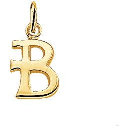 The Jewelry Collection Hanger Letter B Geelgoud