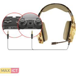 Trust GXT322D Carus Gaming Headset (Desert Camouflage)