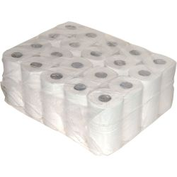 Toilet WC papier 2 laags Recycled Wit 10 x 4 rollen