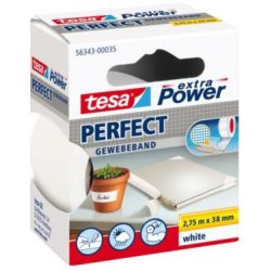 Tesa extra Power Perfect ft 38 mm x 2 75 m wit