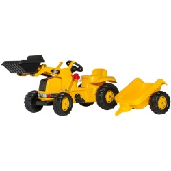 Rolly Toys RollyKid Cat Traptractor met Frontlader