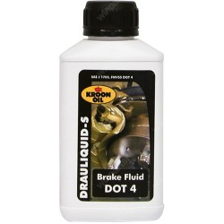 Eurol Brake Fluid Dot 4 250Ml