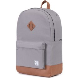Herschel Supply Co. Heritage Rugzak grey tan synthetic leather