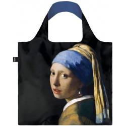 LOQI Shoppers Foldable Bag Museum Collection Zwart