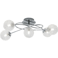 Trio international Moderne Plafondlamp Wire Trio R613211506