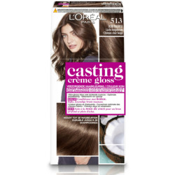 Loreal Casting Creme Gloss 513 Iced Truffle (1set)