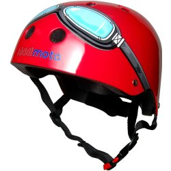 Kinder Fietshelm Red Goggle Small(48 53 cm)