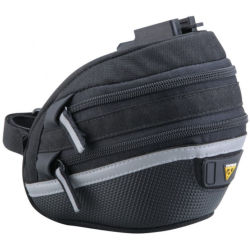 Topeak Wedge Pack 2 Medium Zadeltas Zwart
