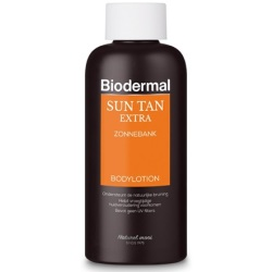 Biodermal Sun Tan Extra Zonnebankcreme 200ml