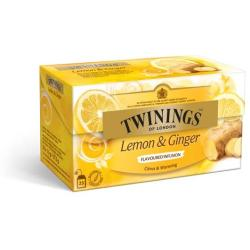 Twinings Infusions Lemon Ginger (25st)
