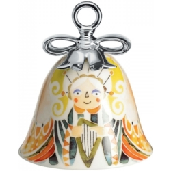 ALESSI Holy Family Kerstklokje Angel