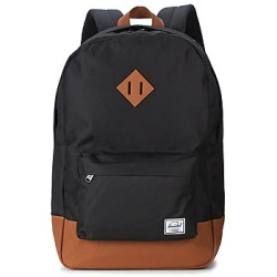 Herschel Supply Co. Heritage Rugzak black tan synthetic leather