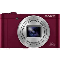 Sony compact camera DSC WX500 (Rood)
