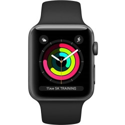 Apple Watch Series 3 OLED Grijs GPS smartwatch MTF02ZD A