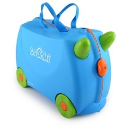 Trunki Ride on kinder koffer Terrance blauw