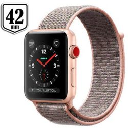 Apple Watch Series 3 Smartwatch Roze Goud 42mm