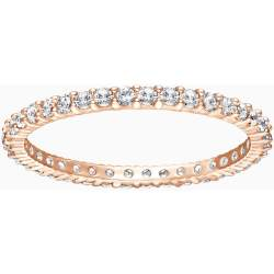 Vittore Ring White Rose gold tone plated