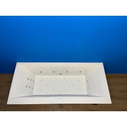 Villeroy Boch Squaro Edge 12 bubbelbad WP2 systeem 160x75 wit