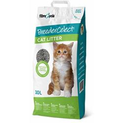BreederCelect Kattenbakvulling 100 Gerecycled 10 l