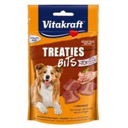 Vitakraft Treaties Bits Leverworst Hondensnack 120 g