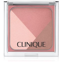 CLINIQUE SCULPTIONARY 3 CHEEK CONTOURING PALLETTE DEFINING ROSES Cosmetics