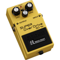 Boss SD 1W Super Overdrive Waza Craft Special Edition