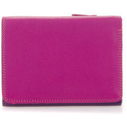 Mywalit Medium Tri fold Wallet damesportemonnee Sangria Multi