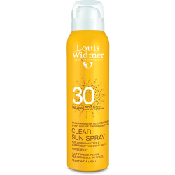 Louis Widmer Zonnebescherming Clear Sun Spray ZP 30 125ml