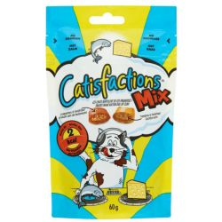 CatisfactionS Mix Zalm Kaas 60 gr