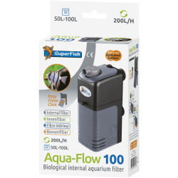 SuperFish AquaFlow Dual Action 100 Aquariumfilter 200 L H