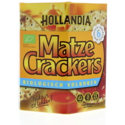 Hollandia Matze Cracker Volkoren (100g)