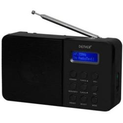 Denver DAB 33 Radio met DAB Digital radio Zwart