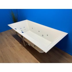 Villeroy Boch Squaro Edge 12 bubbelbad WP2 systeem 190x90 wit
