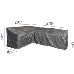 Loungesethoes L left 270 x 210 x 85 x 65(H) 90(HB) cm AeroCover