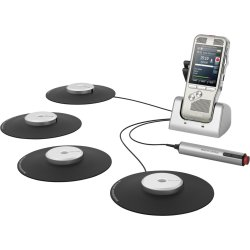 Philips DPM 8900 conference set Zilver