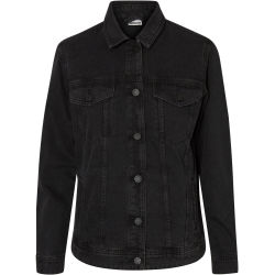 Noisy May Ole Black Denim Jacket Denim jas Vrouwen zwart