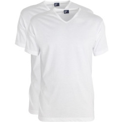 Alan Red T Shirt Vermont White (Two Pack)
