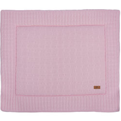 Baby's Only Boxkleed Cable Baby Roze 75 x 95 cm