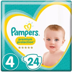 Pampers Premium Protection Maxi S4 Key S (24st)