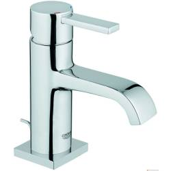 Grohe Allure wastafelkraan met lage uitloop met waste EcoJoy chroom 32757000