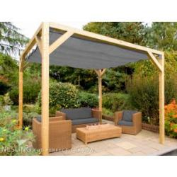 Complete Nesling pergola Stand Alone antraciet 200 x 300 cm