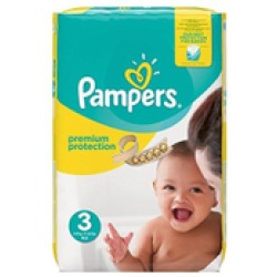 Pampers Premium Protection maandbox maat 3 (6 10 kg) 204 luiers