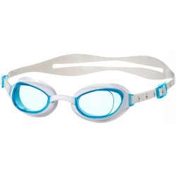 Speedo Female Aquapure Goggle Zwembril Dames White Blue Maat One Size